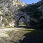 L'accesso all'area del catino dall'area del parco archeologico