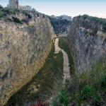 Il Canyon, dove l'accordo di programma prevede il passaggio della strada a scorrimento veloce   foto di Egildo Tagliareni
