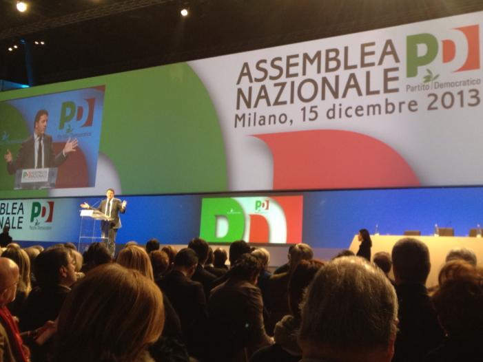 Matteo Renzi all'Assemblea Nazionale 15 dicembre