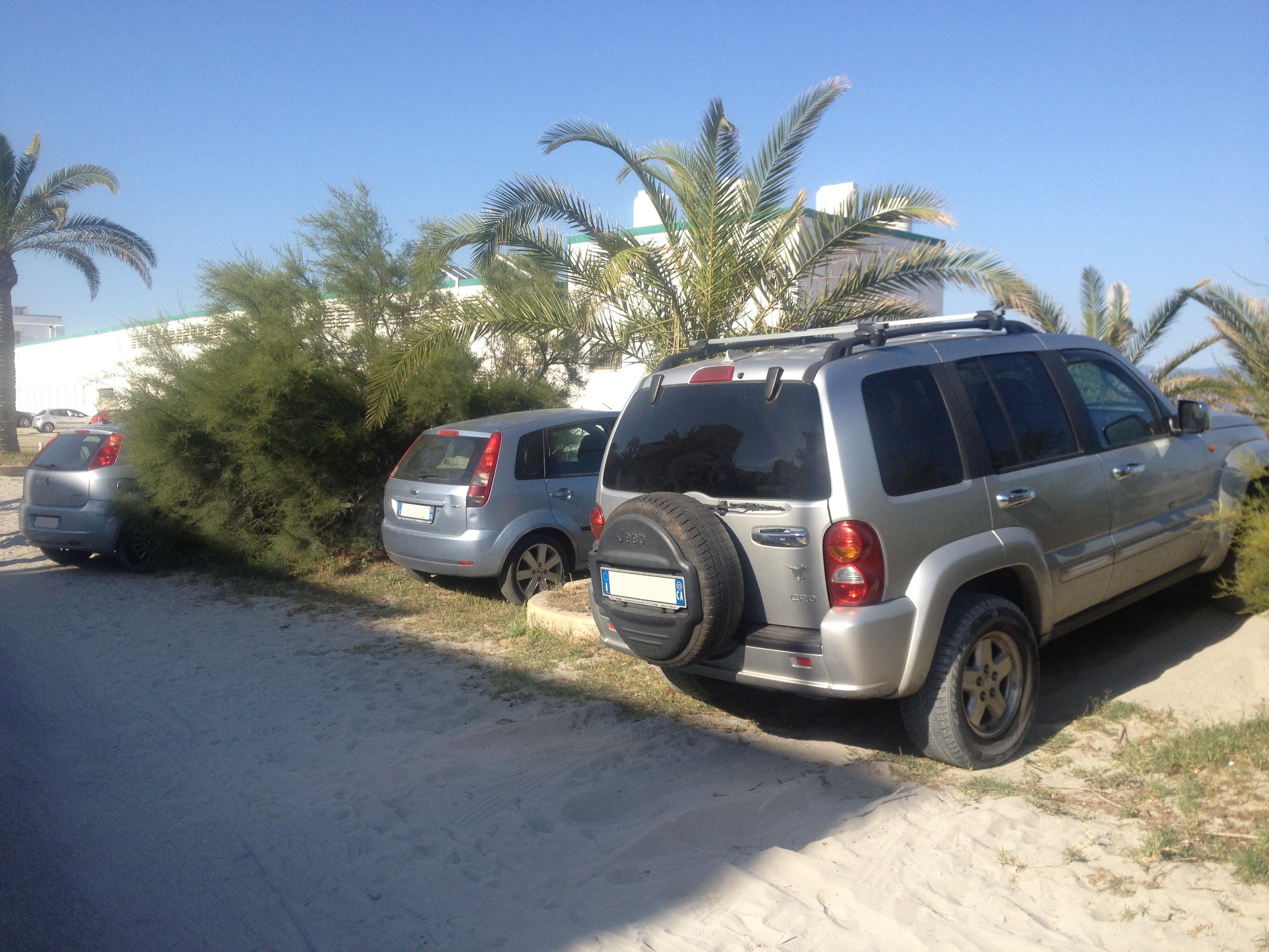 foto Poetto parcheggi dune
