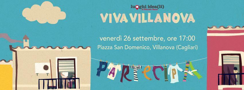 VivaVillanova banner 26 ottobre