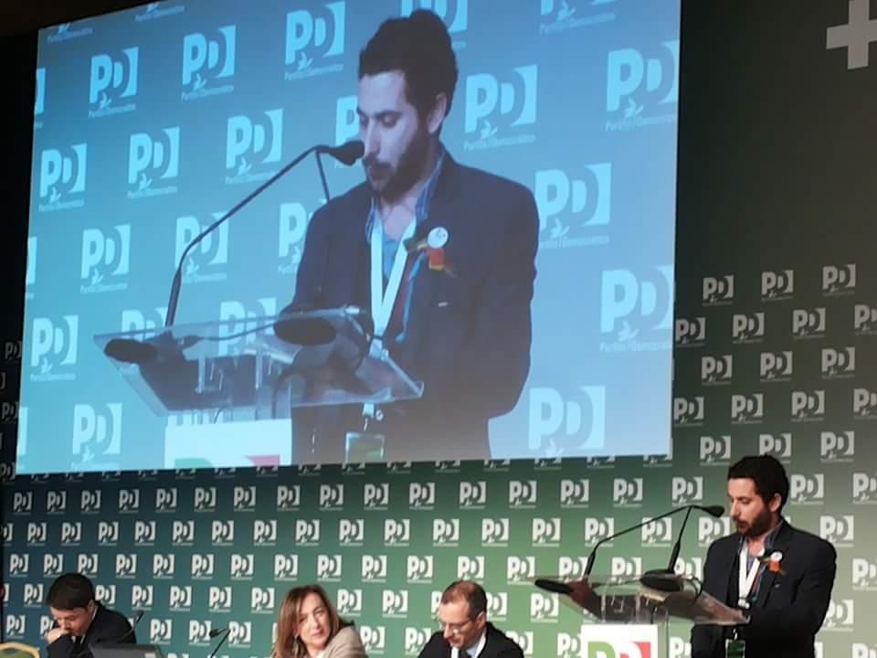 Foto Assemblea Nazionale PD Roma