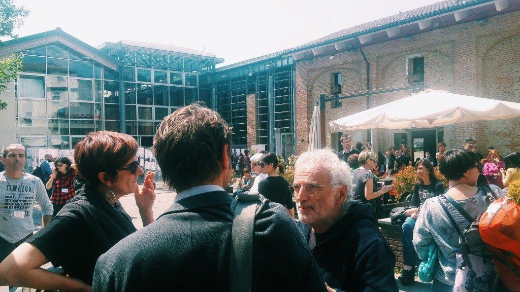 """Ilda Curti, Assessore alle Politiche per l'Integrazione della Città di Torino, a Cascina Roccafranca durante il convegno nazionale """"Abitare una Casa per abitare un Quartiere"""". Questo il sito sulla rigenerazione urbana di Torino"""