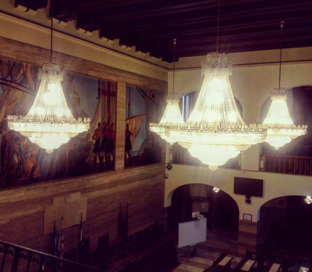 Aula del Consiglio Comunale di Cagliari
