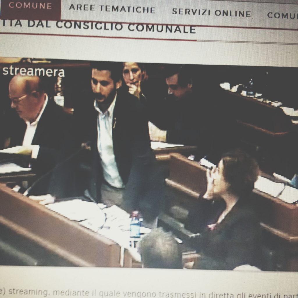 Matteo Lecis Cocco Ortu - Intervento in streaming - foto gentilmente offerta da Benedetta Iannelli
