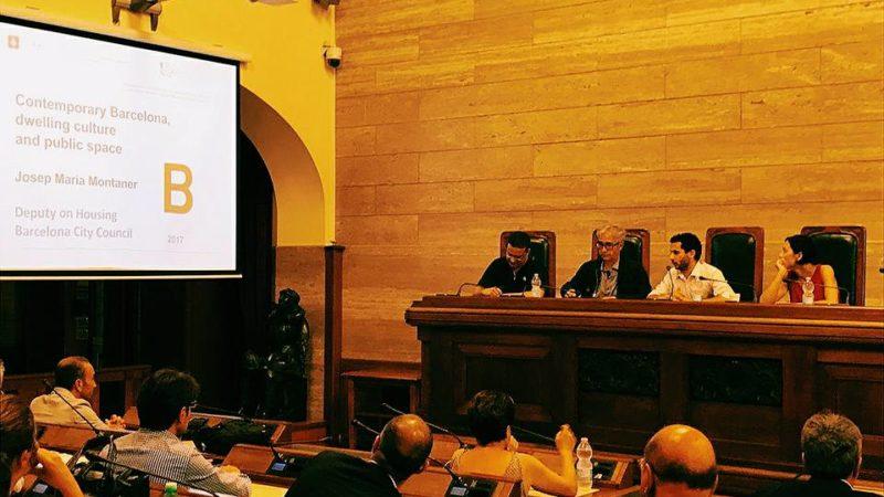 Politiche per l'abitare e spazi pubblici a Barcellona | Josep Montaner a Cagliari in Commissione Urbanistica